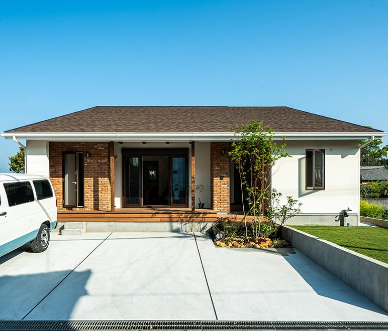 サンズのベストアンサーを活用し確かな工法で作る企画住宅