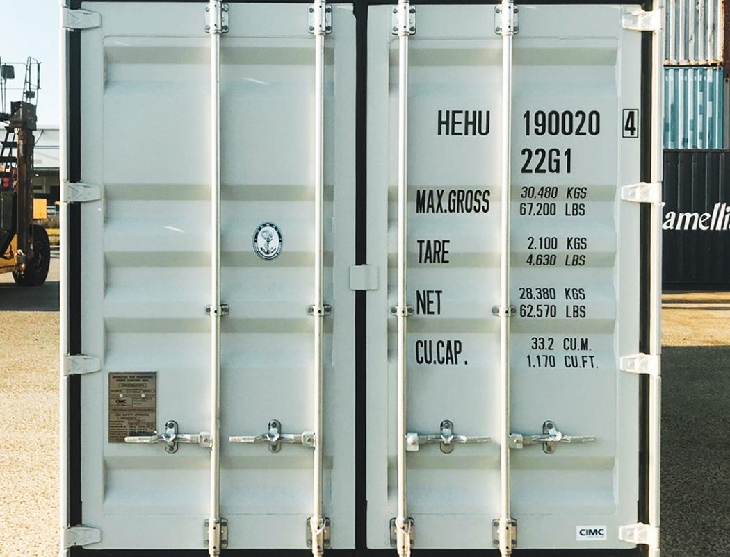 海上輸送に使われる海上コンテナ。用途も仕様も無限大
